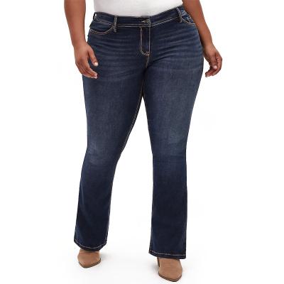 MAURICES / BOOTCUT / женские джинсы легкий клеш большого размера