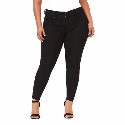TORRID / коллекция JEGGINGS / джинсы большого размера для женщин черные