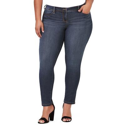 TORRID / Sky High Skinny / женские джинсы большого размера серо синие