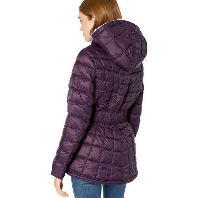 Rocawear /  Женская куртка пуховик с подкладкой из искусственного меха