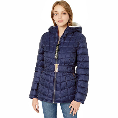 Rocawear /  Стеганая куртка женская с подкладкой из искусственного меха
