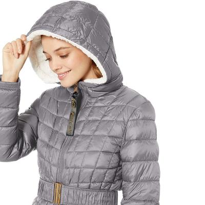 Rocawear /  Куртка пуховик с подкладкой из искусственного меха для женщин