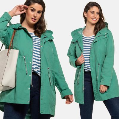 ULLA POPKEN / Женская легкая куртка большого размера