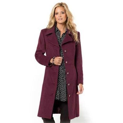 ANNE WEYBURN / Классическое женское пальто больших размеров