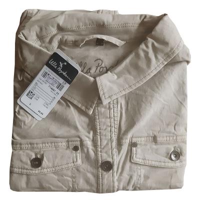 ULLA POPKEN / Джинсовая куртка крафт большого размера для женщин