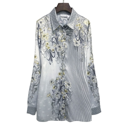 Блузка женская приталенная