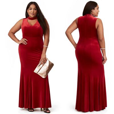TORRID / Вечернее бархатное платье в пол большого размера