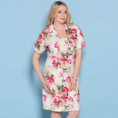 Комплект платье+жакет