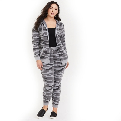 TORRID / Спортивный костюм женский больших размеров камуфляж