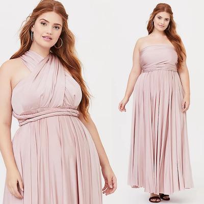 TORRID / Вечернее атласное длинное платье трансформер