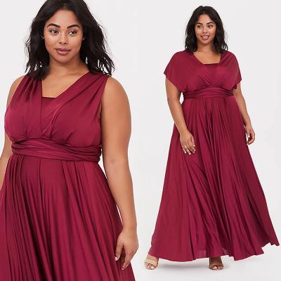 TORRID / Вечернее красное платье в пол 5 дизайнов