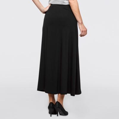 BPK SELECTION / Трикотажная юбка макси черная